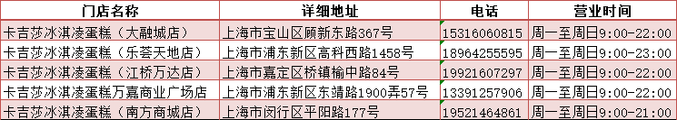 【上海5店可用配送到家】88元购卡吉莎冰淇凌蛋糕268元的水果奶油蛋糕(8寸)!人气千层蛋糕,百吃不厌!精选进口原材料!手工制作,造型精美!每一口都是幸福的味道!